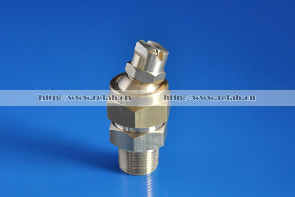 Swivel ball joint nozzle
