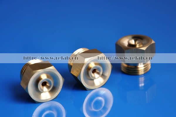 Brass full flow water nozzle