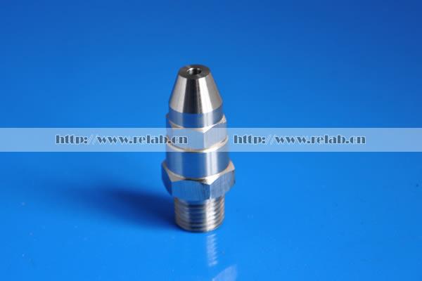 Narrow jet full cone nozzle