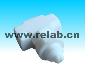 PTFE Flat Fan Air Atomizing Nozzle